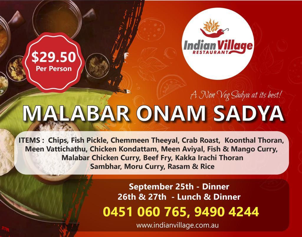 Special Malabar Non-Veg Onam Sadya